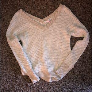 Victoria's Secret off the shoulder sweater